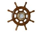 Kuģa stūre ar pulksteni